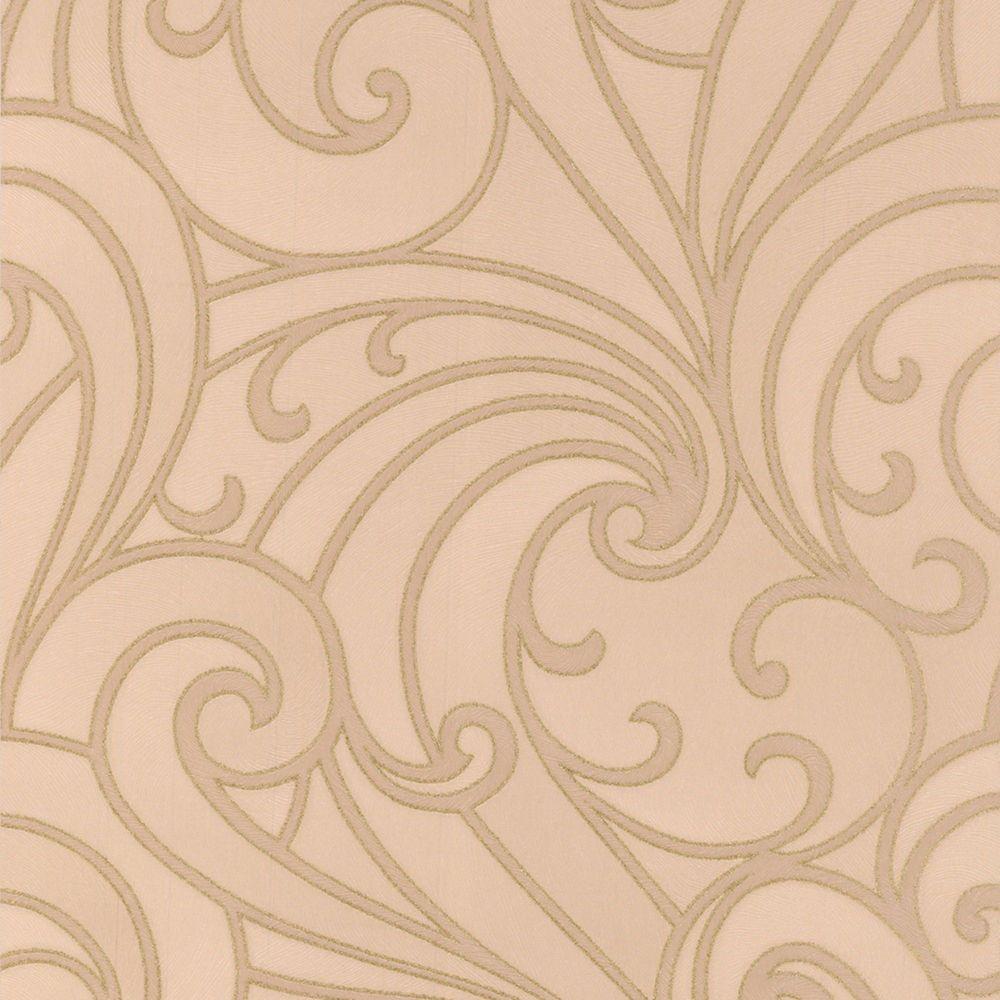 Saville Beige/Gold Wallpaper