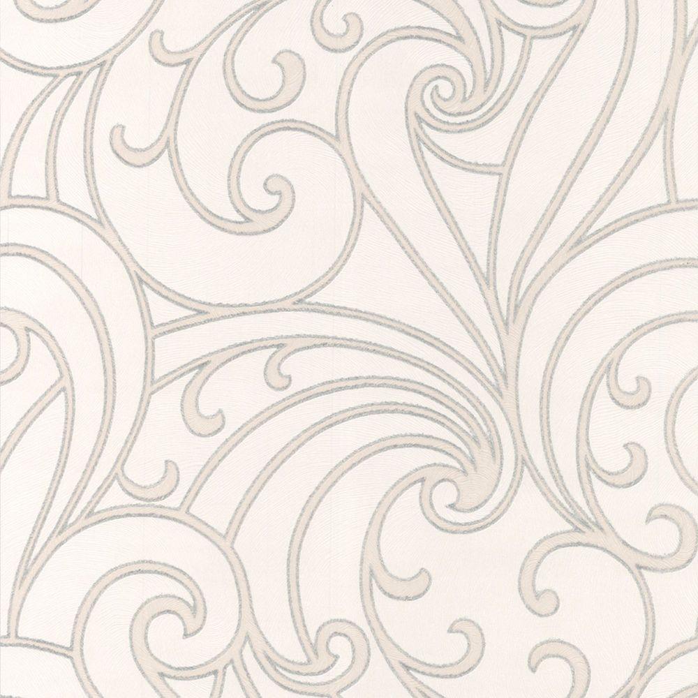 Saville Papier Peint Gris