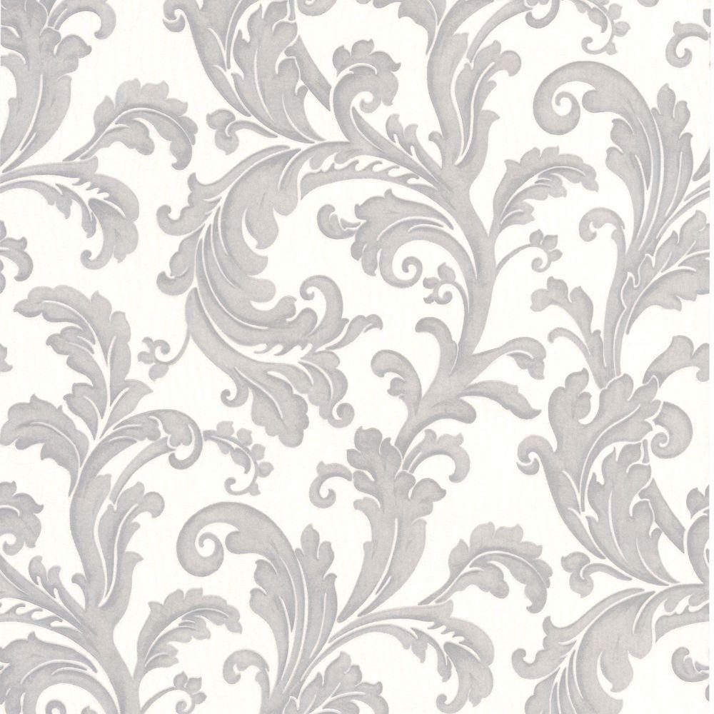 Capulet Gray/Silver Wallpaper