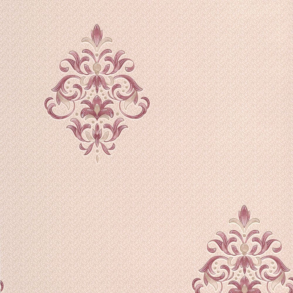 Clemency Red/Pink Wallpaper