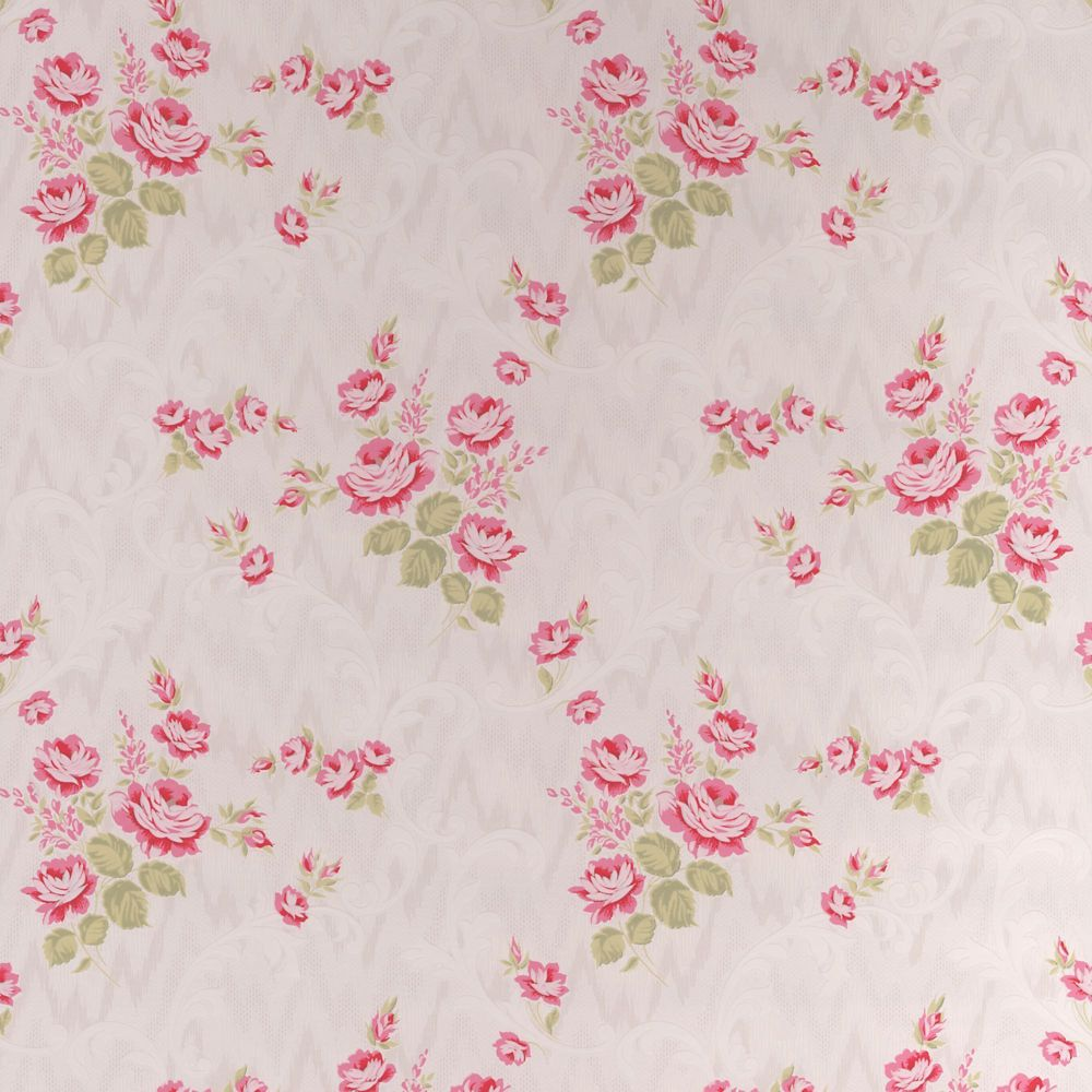Jocelyn Red/Pink Wallpaper 20-563 Canada Discount