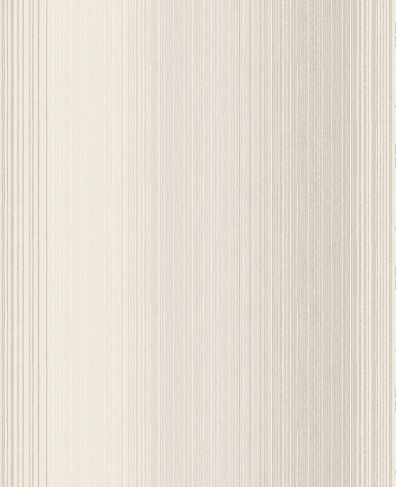 Superfresco chambray stripe brown tan wallpaper the home for Wallpaper home depot canada