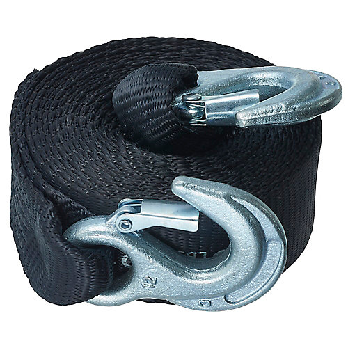 KEEPER Tow Strap,15 Feet. ,5000lbs.Max Vehicle Wt | The Home Depot ...