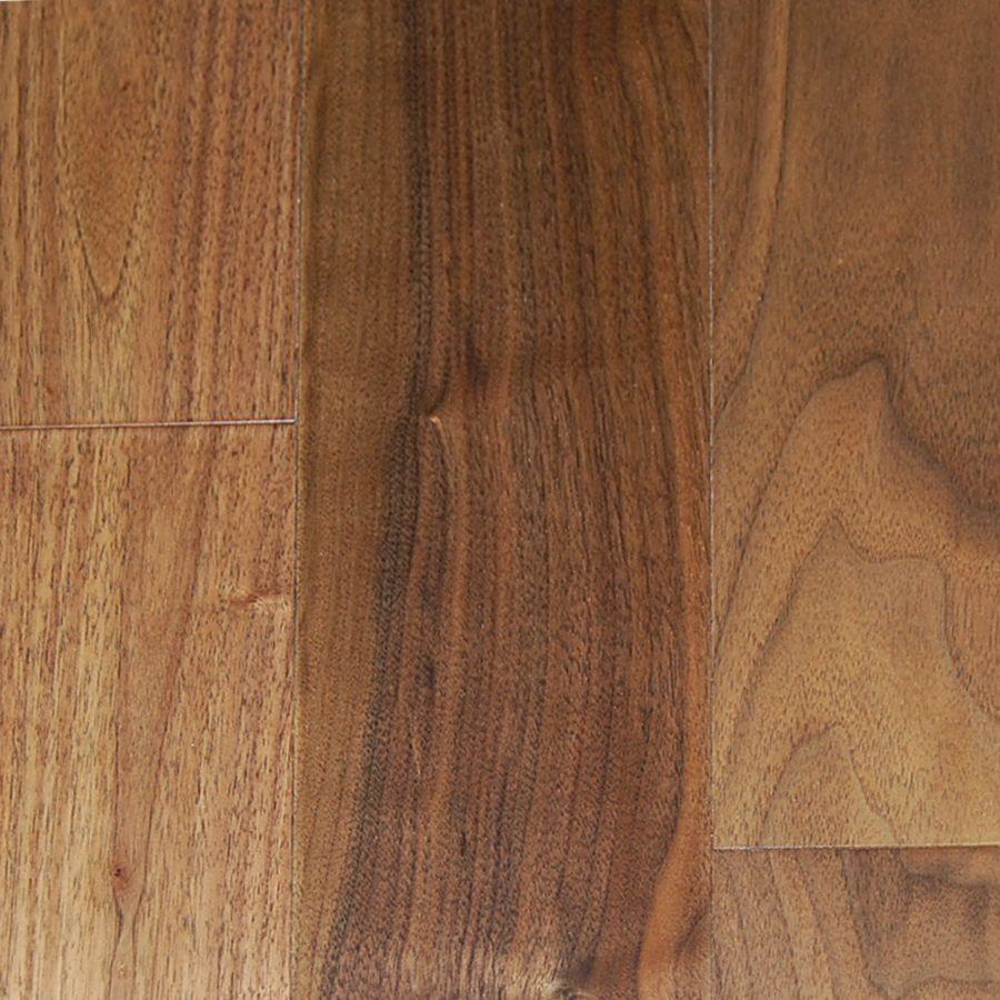 Plancher Noyer 12.7mm x 5  - Couleur Naturel (23.04 Pi. Carre Par Caisse)
