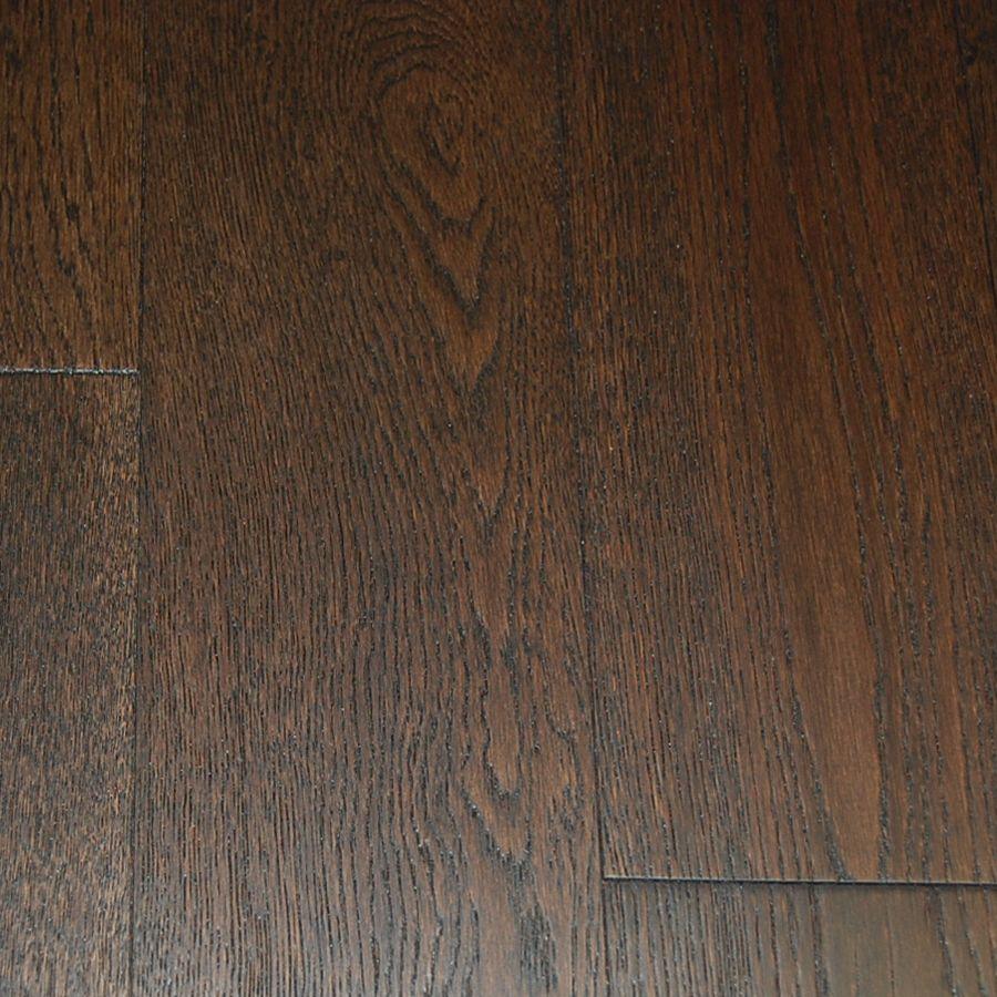"""Plancher de chêne massif 12.7mm x 5"""" fini brossé - Couleur fur (23.04 Pi. Carre Par Caisse)"""