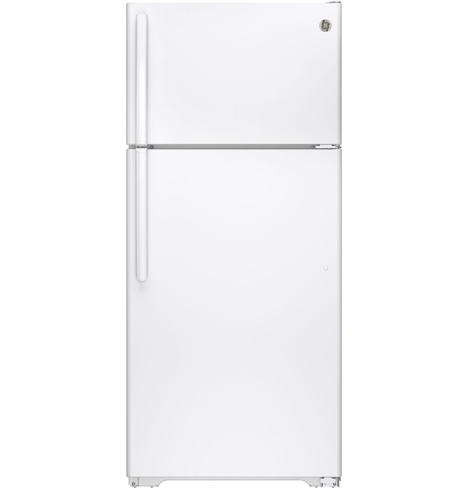 15.5 cu. ft. Frost-Free Top Freezer Refrigerator in White