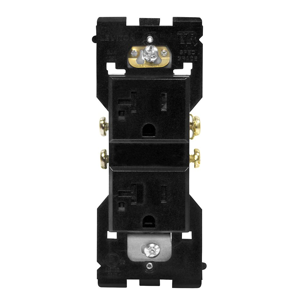 Base Unit for 20A Receptacle (Face and Wallplate not Included)