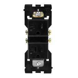 Leviton Base Unit for 20A Receptacle (Face and Wallplate not Included)