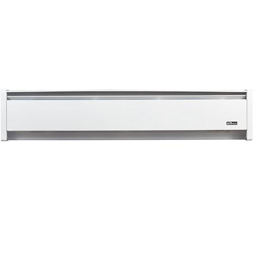 Cadet 1000W 120V, 59 inch SoftHeat hydronic baseboard, white