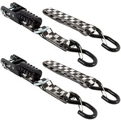 KEEPER Tie-Down PowerSports 8 ft. x1-1/4 inch. Ratch