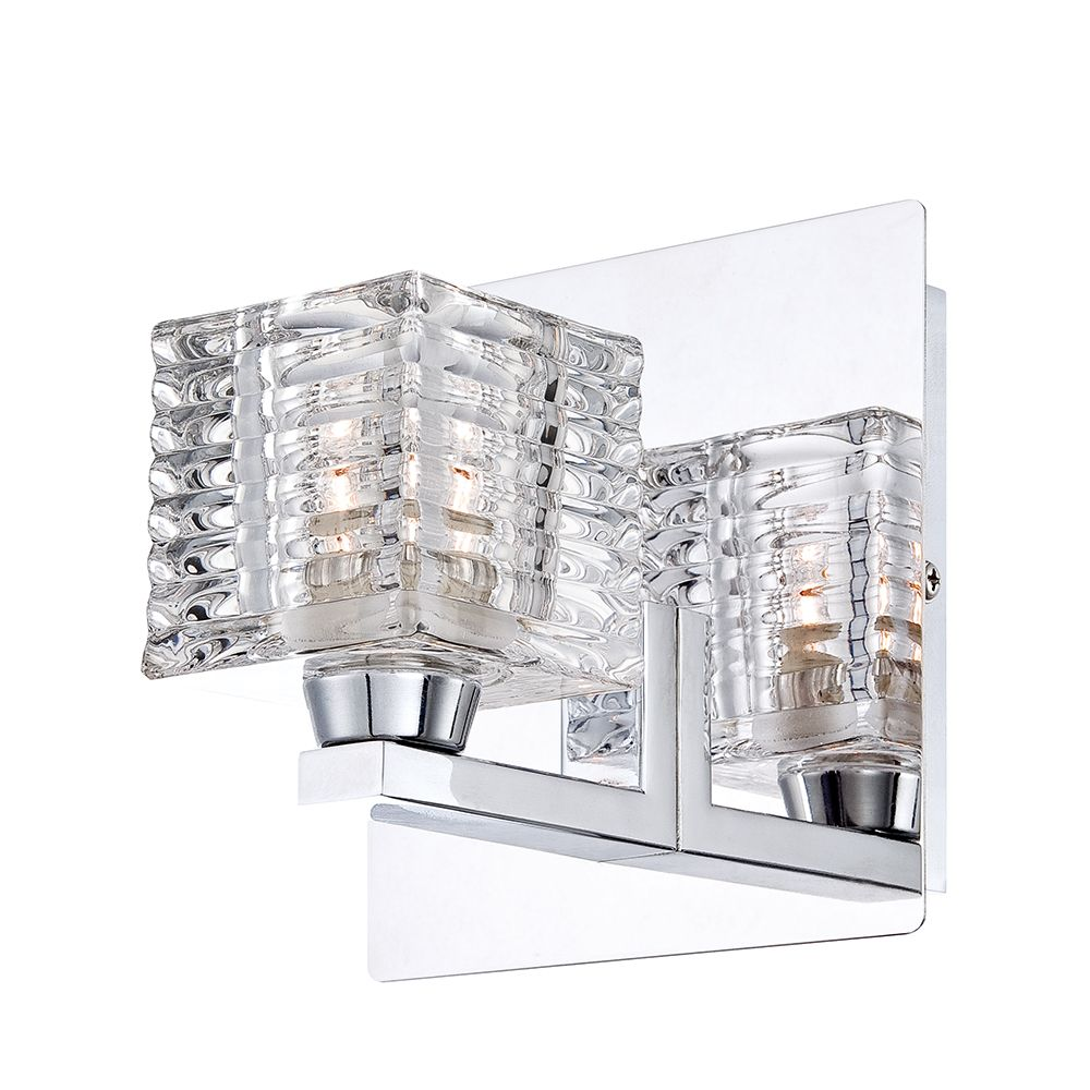 Olivet Collection 1 Light Chrome Wall Sconce