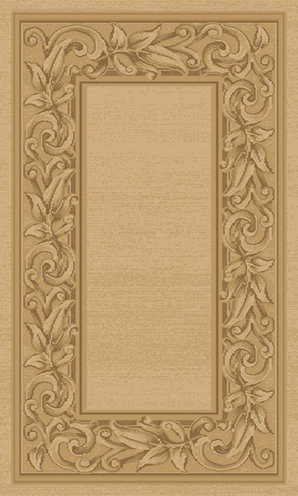 Balta Us Elegant Embrace Beige Tan 3 ft. 11-inch x 5 ft. 7-inch Indoor Transitional Rectangular Area Rug