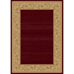 Balta Us Elegant Embrace Red 3 ft. 11-inch x 5 ft. 7-inch Indoor Transitional Rectangular Area Rug