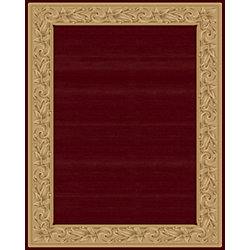 Balta Us Carpette d'intérieur, 7 pi 10 po x 11 pi, style transitionnel, rectangulaire, rouge Elegant Embrace