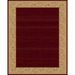Balta Us Elegant Embrace Red 9 ft. 2-inch x 12 ft. 5-inch Indoor Contemporary Rectangular Area Rug