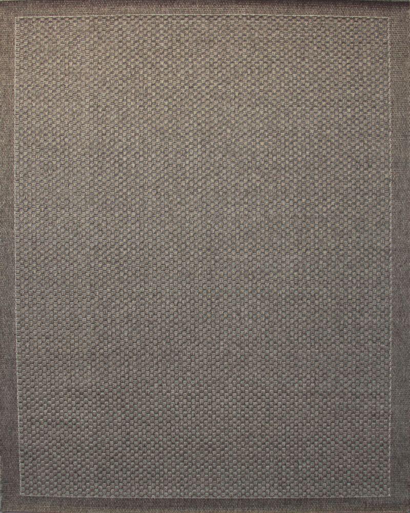 Melbourne Grey 7 Feet 10 Inch x 10 Feet Area Rug