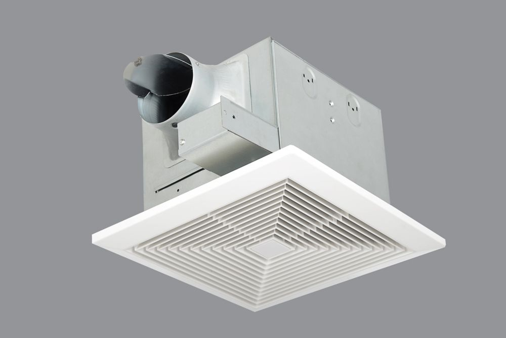 Hampton bay 70cfm ceiling exhaust bath fan the home - Panasonic bathroom fans home depot ...