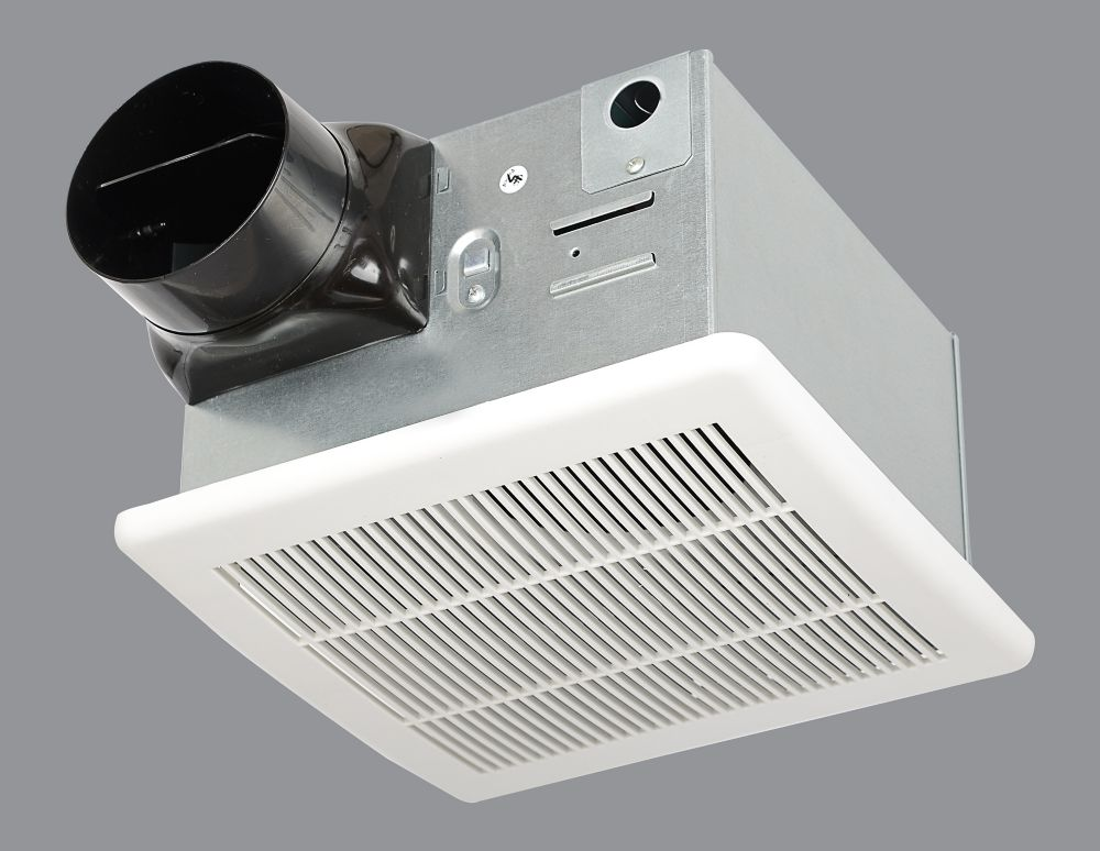 Hampton bay 90cfm ceiling exhaust bath fan the home - Panasonic bathroom fans home depot ...