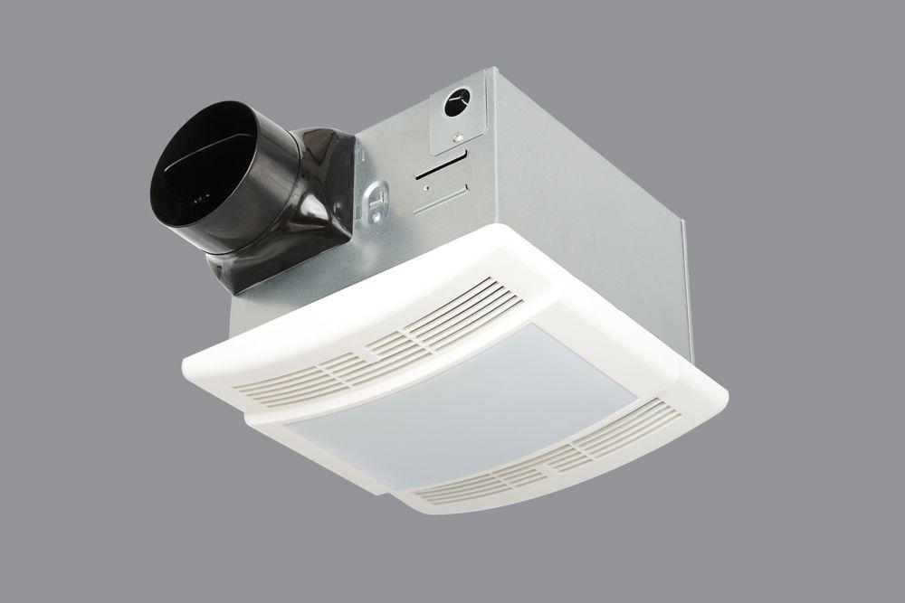 HB 90CFM Celing Exhaust Bath Fan/Light