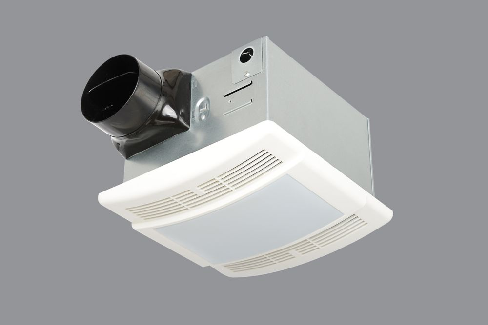 HB 90CFM Celing Exhaust Bath Fan/Light
