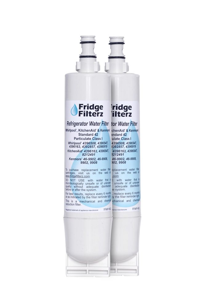 Fridge Filterz FFWP-902 Replacement Refrigerator Water & Ice Filter (2-Pack)