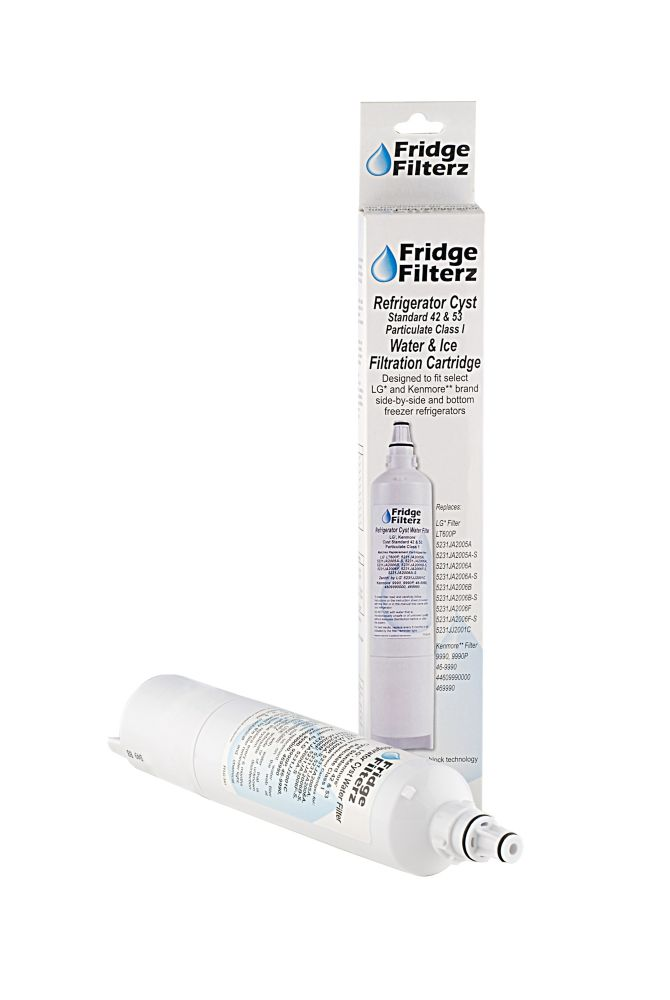 Refrigerator Water & Ice Filter for LG LT600P, 5231JA2006B, 5231JA2006A