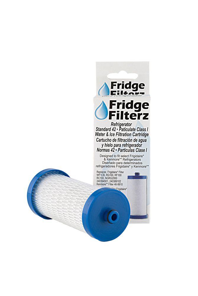 Filtre à eau Fridge Filterz FFFD-132-1 en paquet de 1, pour réfrigérateurs Frigidaire et Kenmore