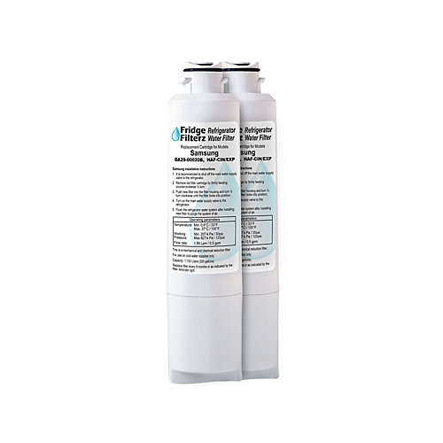 fridge filterz da29-00020b, haf-cin/exp replacement water & ice ...