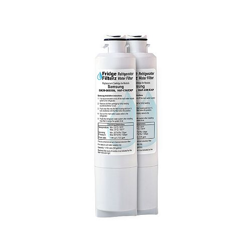 Fridge Filterz HAF-CIN/EXP Replacement Water and Ice Filter for Samsung Refrigerator (2-Pack)