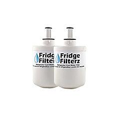 Samsung DA29-00003A, DA29-00003B Replacement Refrigerator Water & Ice Filter (2-Pack)