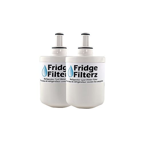 Fridge Filterz Samsung DA29-00003A, DA29-00003B Filtre à eau et à glace de rechange pour réfrigérateur 2PK