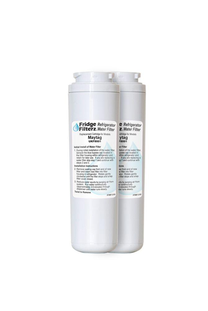 Fridge Filterz FFMT-315-2 Water Filter 2PK