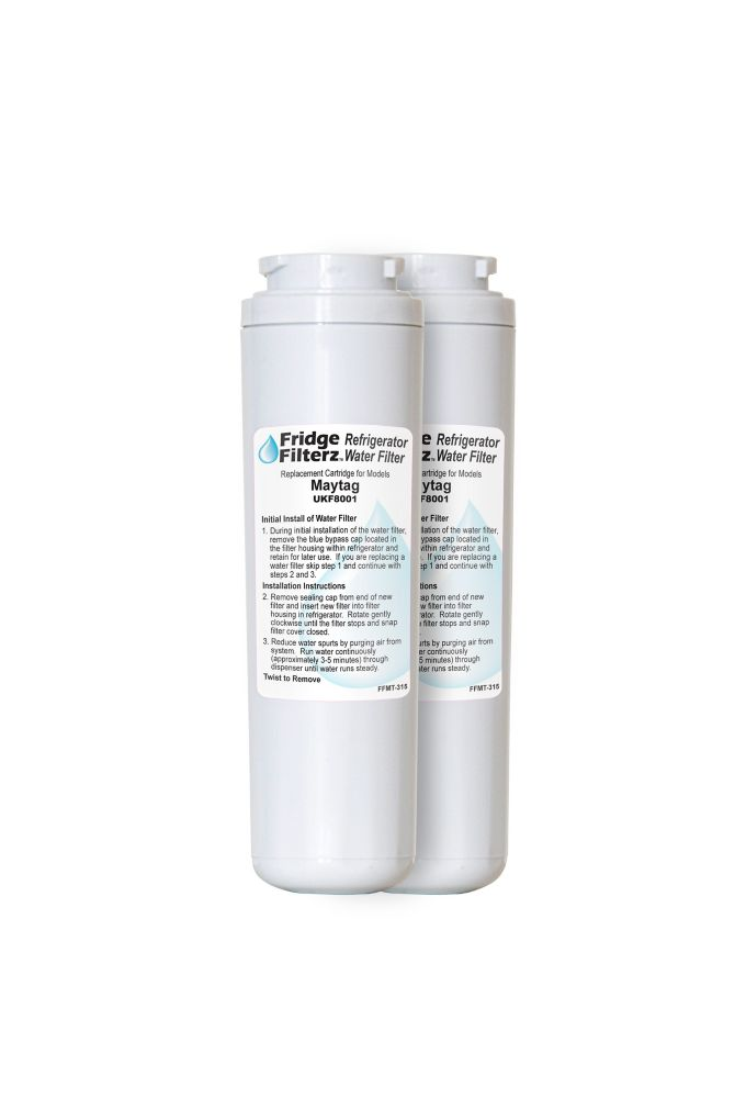 Maytag UKF8001, Amana, KitchedAid Replacement Refrigerator Water & Ice Filter 2PK