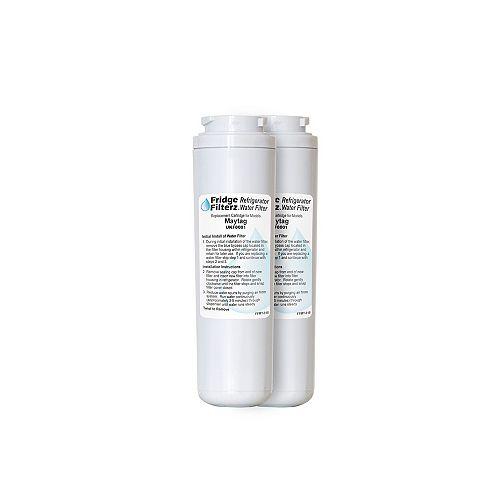 Fridge Filterz Refrigerator Water & Ice Filter for Maytag UKF8001, Amana, KitchenAid (2-Pack)
