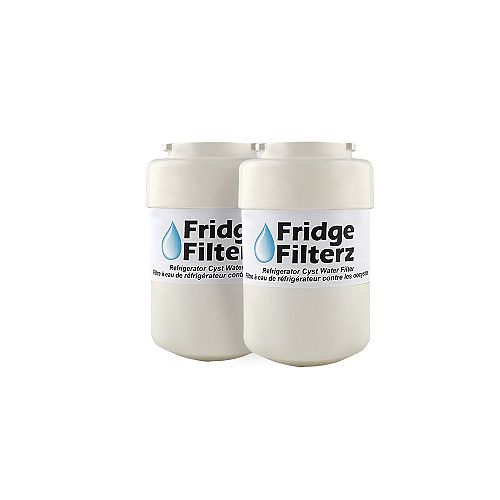 Fridge Filterz MWF/MWFP Replacement Water & Ice Filter for GE Refrigerator (2-Pack)