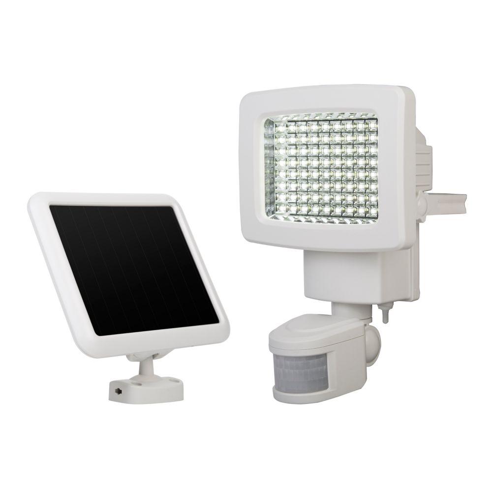 Projecteur Solaire De 80 DEL Ultra Brillantes à Détecteur de Mouvement
