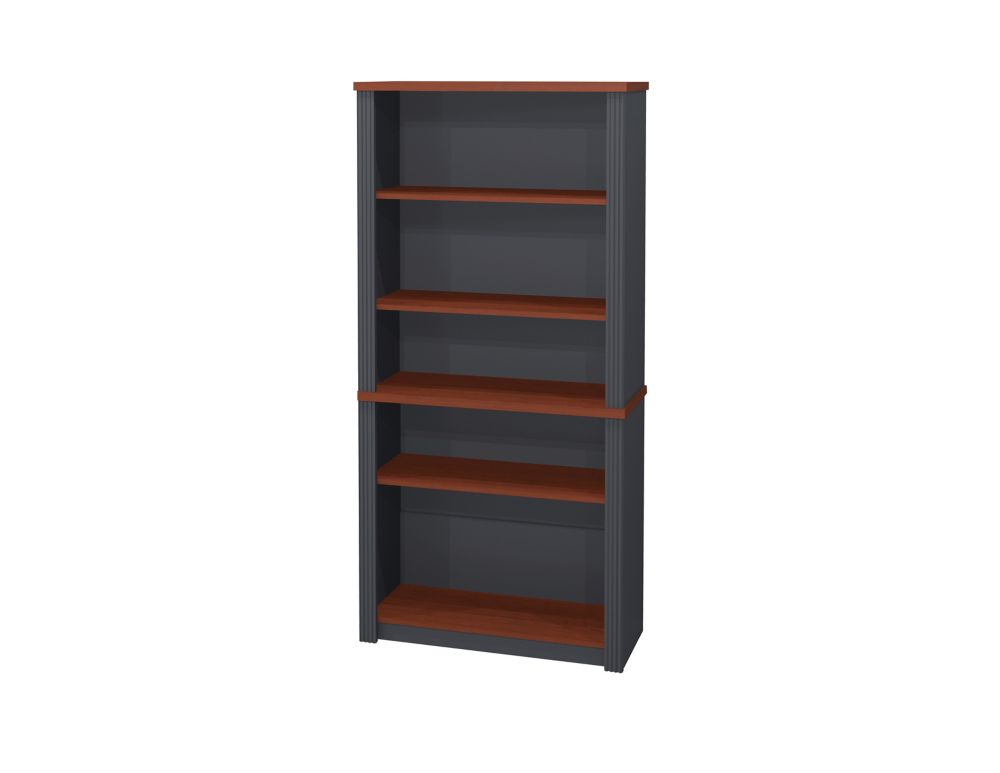 Bestar 308 Inch X 668 129 5 Shelf Manufactured