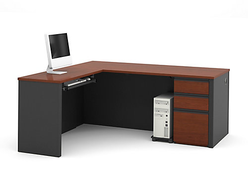 desks furniture pc latop for l computer desk wood tribesigns table corner d modern large shaped study shop home office workstation x w cherry metal