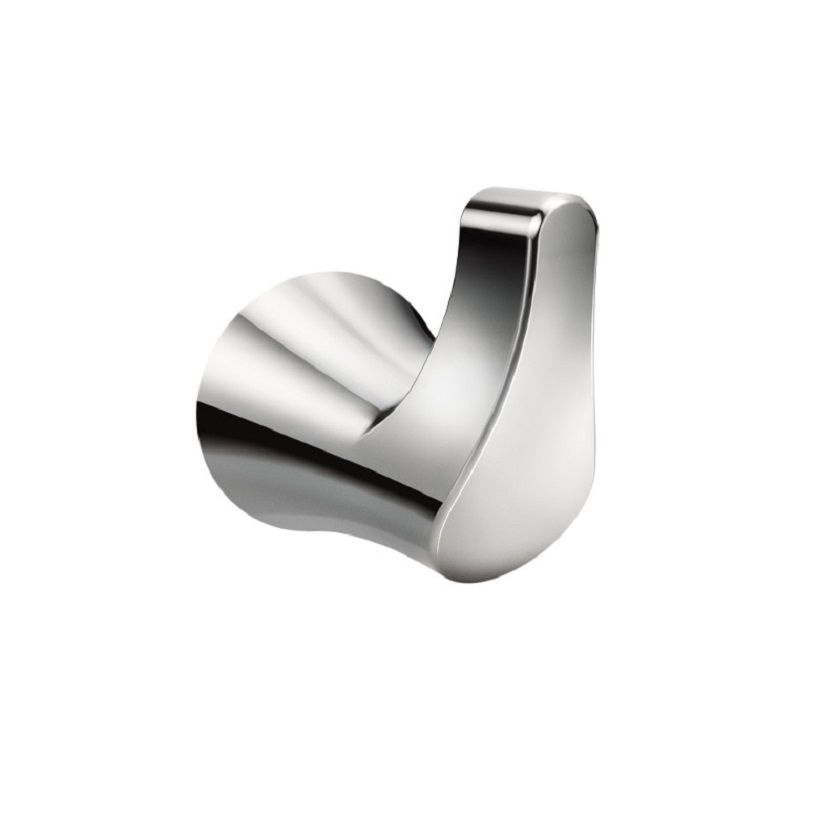 Danika Robe Hook Chrome