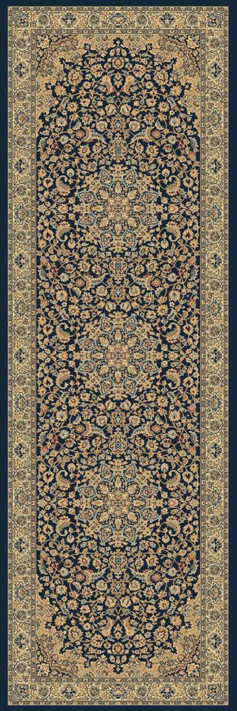 Classical Manor Blue 2 Feet 7 Inch x 7 Feet 10 Inch Runner
