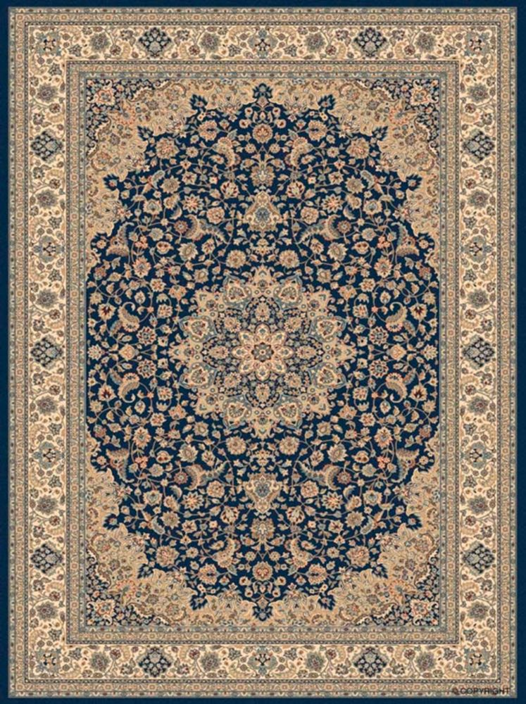 Balta Us Classical Manor Blue 3 ft. 11-inch x 5 ft. 7-inch Indoor Traditional Rectangular Area Rug