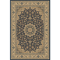Balta Us Classical Manor Blue 6 ft. 6-inch x 9 ft. 6-inch Indoor Contemporary Rectangular Area Rug