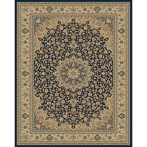 Classical Manor Blue 7 ft. 10-inch x 11 ft. Area Rug