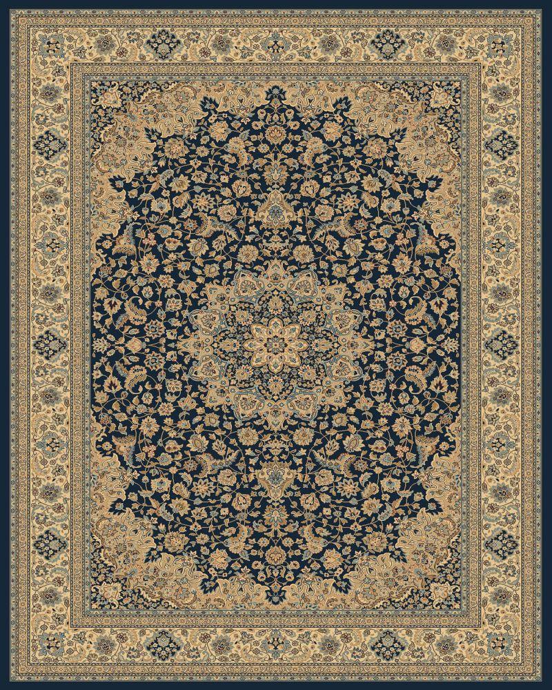 Classical Manor Blue 9 Feet 2 Inch x 12 Feet 5 Inch Area Rug