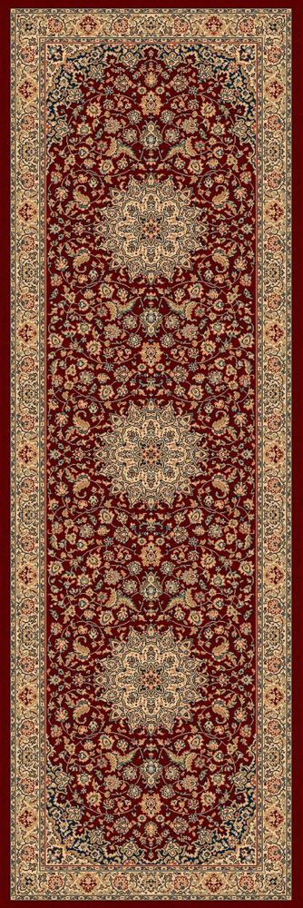 Classical Manor Red 2 Feet 7 Inch x 7 Feet 10 Inch Runner