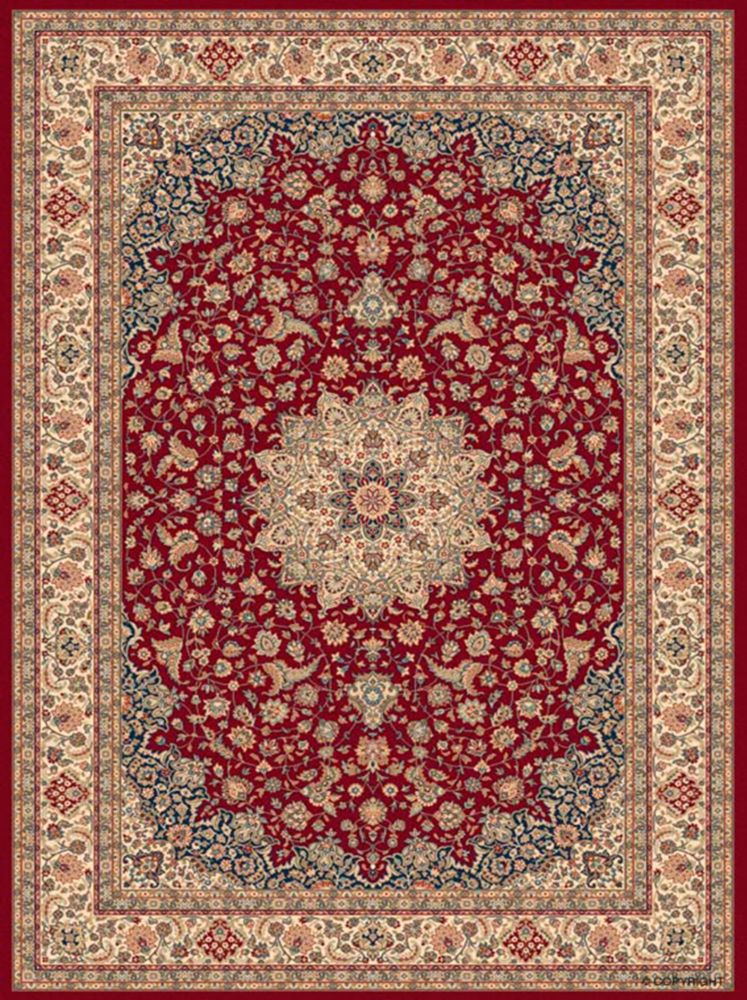 Classical Manor Red 5 Feet 3 Inch x 7 Feet 5 Inch Area Rug