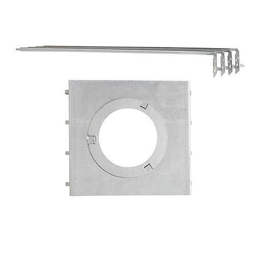 All-in-One New Construction Recessed Lighting Mounting Plate