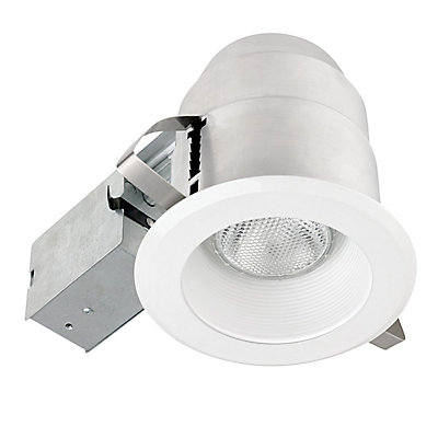 Globe electric 92404 5 inch ic rated recessed lighting kit white 92404 5 inch ic rated recessed lighting kit white finish mozeypictures Gallery