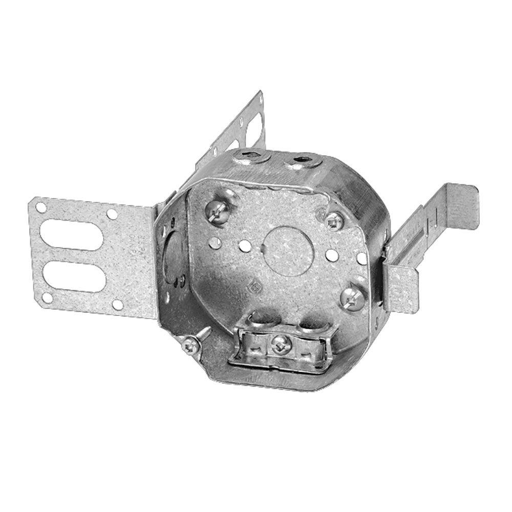 Octagonal Box 1-1/2 Inch AC90 Steel Stud