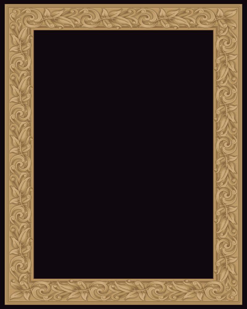 Elegant Embrace Black 7 Feet 10 Inch x 11 Feet Area Rug